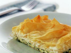 Yufkateig-Spinatkuchen Rezept